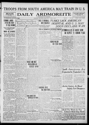 The Daily Ardmoreite from Ardmore, Oklahoma on June 19, 1918 · Page 1