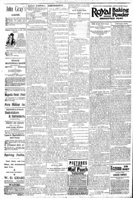 Logansport Pharos-Tribune from Logansport, Indiana on June 9, 1896 · Page 4