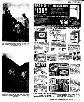 Arizona Republic from Phoenix, Arizona on February 7, 1960 · Page 70