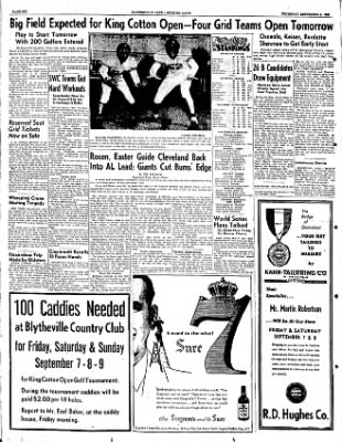 The Courier News from Blytheville, Arkansas on September 6, 1951 · Page 5