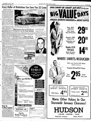 The Courier News from Blytheville, Arkansas on January 8, 1953 · Page 11
