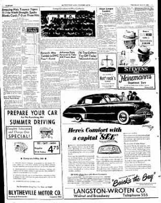 The Courier News from Blytheville, Arkansas on May 12, 1949 · Page 6