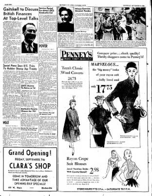 The Courier News from Blytheville, Arkansas on September 6, 1951 · Page 13