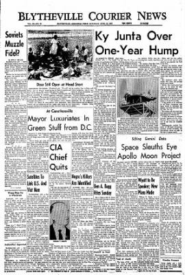 The Courier News from Blytheville, Arkansas on June 18, 1966 · Page 1