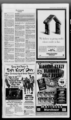 The Baltimore Sun From Baltimore Maryland On May 10 1998