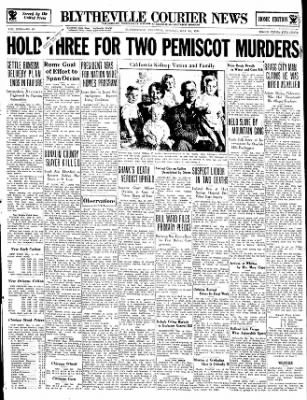 The Courier News from Blytheville, Arkansas on May 14, 1934 · Page 1