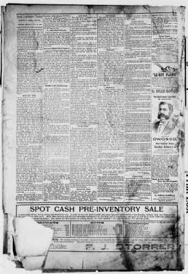 Owosso Times From Owosso Michigan On January 26 1906 Page 4