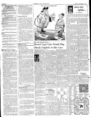The Courier News from Blytheville, Arkansas on September 7, 1951 · Page 6