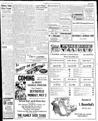 The Courier News from Blytheville, Arkansas on May 1, 1947 · Page 5
