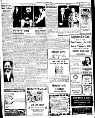 The Courier News from Blytheville, Arkansas on May 14, 1949 · Page 8