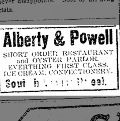 Alberty & PowellOct 10, 1907The Chillicothe Constitution - Alberty & Powell SH0 5 ;S!; ltK ;SSS iST...