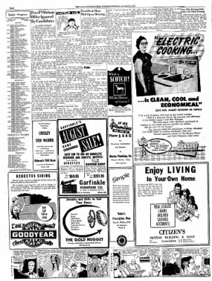 The Leavenworth Times from Leavenworth, Kansas on August 19, 1952 · Page 8