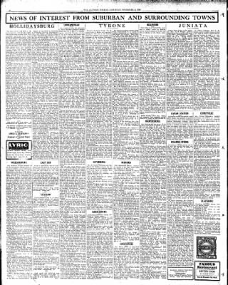 Altoona Mirror from Altoona, Pennsylvania on November 2, 1929 · Page 14