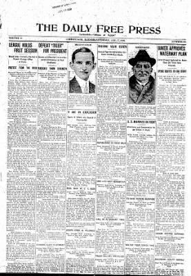 The Daily Free Press from Carbondale, Illinois on January 17, 1920 · Page 1