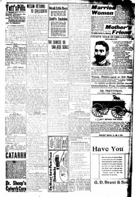 The Chillicothe Constitution-Tribune from Chillicothe, Missouri on January 23, 1908 · Page 8