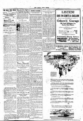 The Daily Free Press from Carbondale, Illinois on January 19, 1920 · Page 2