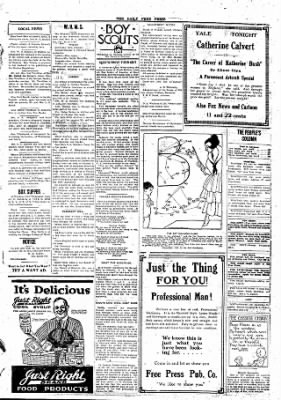 The Daily Free Press from Carbondale, Illinois on January 19, 1920 · Page 3