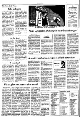 The Hays Daily News from Hays, Kansas on December 12, 1976 · Page 4