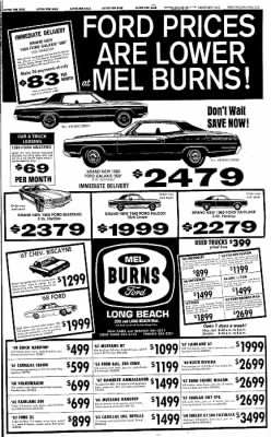 Independent from Long Beach, California on February 21, 1969 · Page 49