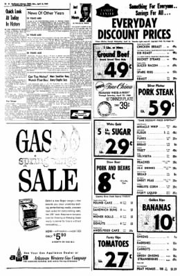 Northwest Arkansas Times from Fayetteville, Arkansas on April 14, 1969 · Page 12