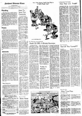 Northwest Arkansas Times from Fayetteville, Arkansas on February 19, 1973 · Page 4