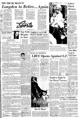 Independent from Long Beach, California on March 10, 1966 · Page 38