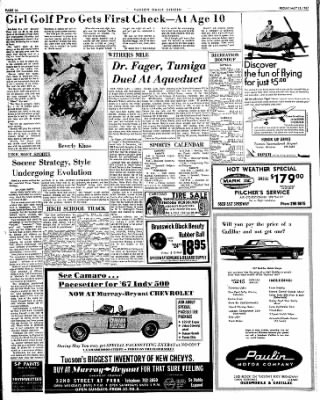 Tucson Daily Citizen from Tucson, Arizona on May 12, 1967 · Page 26