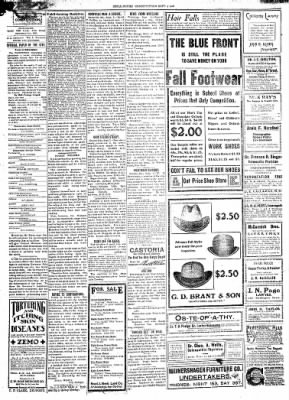 The Chillicothe Constitution-Tribune from Chillicothe, Missouri on September 4, 1906 · Page 2