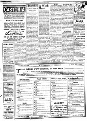 The Chillicothe Constitution-Tribune from Chillicothe, Missouri on September 4, 1906 · Page 3