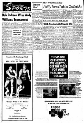 Northwest Arkansas Times from Fayetteville, Arkansas on February 19, 1973 · Page 14