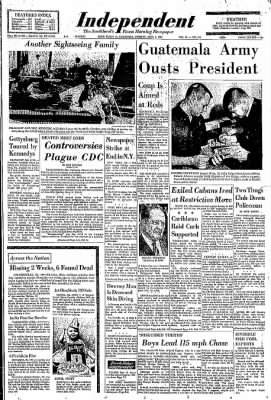Independent from Long Beach, California on April 1, 1963 · Page 1