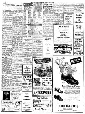 The Leavenworth Times from Leavenworth, Kansas on August 22, 1952 · Page 6