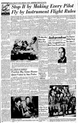 Independent from Long Beach, California on February 10, 1958 · Page 15