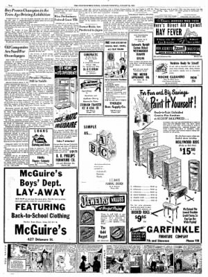 The Leavenworth Times from Leavenworth, Kansas on August 24, 1952 · Page 2