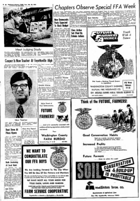 Northwest Arkansas Times from Fayetteville, Arkansas on February 20, 1973 · Page 8