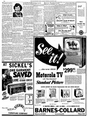 The Leavenworth Times from Leavenworth, Kansas on August 24, 1952 · Page 10