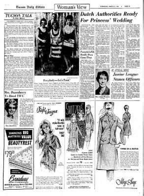 Tucson Daily Citizen from Tucson, Arizona on March 9, 1966 · Page 13