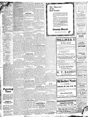 The Chillicothe Constitution-Tribune from Chillicothe, Missouri on September 12, 1906 · Page 2