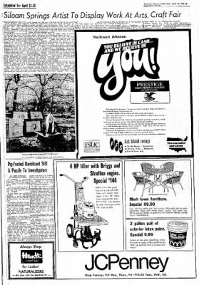 Northwest Arkansas Times from Fayetteville, Arkansas on April 14, 1976 · Page 29