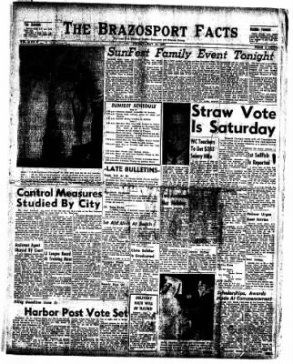 The Brazosport Facts from Freeport, Texas on May 31, 1957 · Page 1