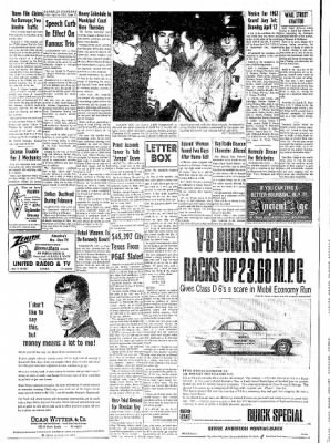 Eureka Humboldt Standard from Eureka, California on April 6, 1962 · Page 10