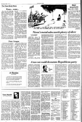 The Hays Daily News from Hays, Kansas on December 14, 1976 · Page 4