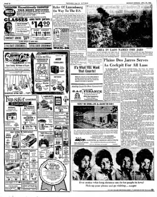 Tucson Daily Citizen from Tucson, Arizona on April 29, 1963 · Page 22