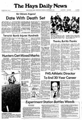 The Hays Daily News from Hays, Kansas on December 15, 1976 · Page 1