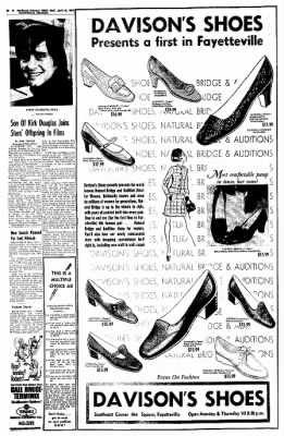 Northwest Arkansas Times from Fayetteville, Arkansas on April 16, 1969 · Page 28