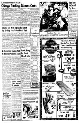Northwest Arkansas Times from Fayetteville, Arkansas on April 17, 1969 · Page 12