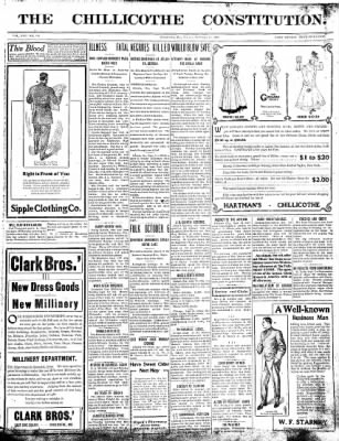 The Chillicothe Constitution-Tribune from Chillicothe, Missouri on September 25, 1906 · Page 1
