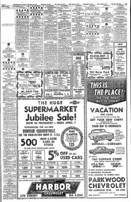 Independent from Long Beach, California on March 31, 1962 · Page 31