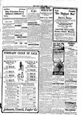 The Daily Free Press from Carbondale, Illinois on February 11, 1920 · Page 3