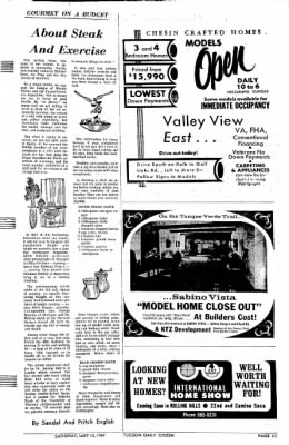 Tucson Daily Citizen from Tucson, Arizona on May 13, 1967 · Page 37